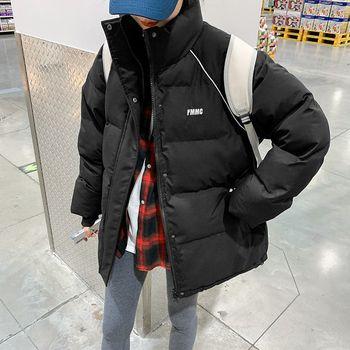 冬季外套棉服女2021韩版宽松短款