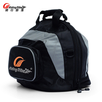 Ridingtribe Large capacity Motorcycle bag riding helmet car tail rear seat locomotive bag side hanging side bag back