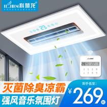 垂直风凉霸FS204浴室厨房凉霸风扇友邦集成吊顶