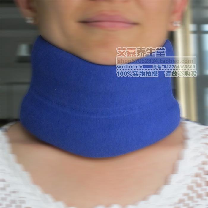外层纯棉布颈托 护颈椎套护脖子 保护颈椎托围领固定