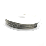 Necklace cord wire thread bead needle--help lead wire needle Crystal jewelry line
