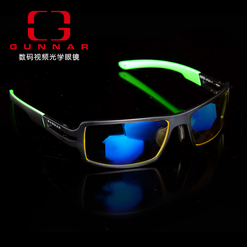 官方正品GUNNAR雷蛇防蓝光眼镜辐射电脑眼镜电竞护目镜 Razer RPG