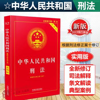 刑法法条2019新版实用版小册子书籍