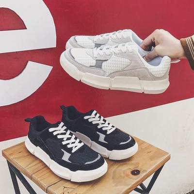 男士休闲低帮鞋青年学生运动鞋跑步板鞋潮备货万双 控108 S48P80