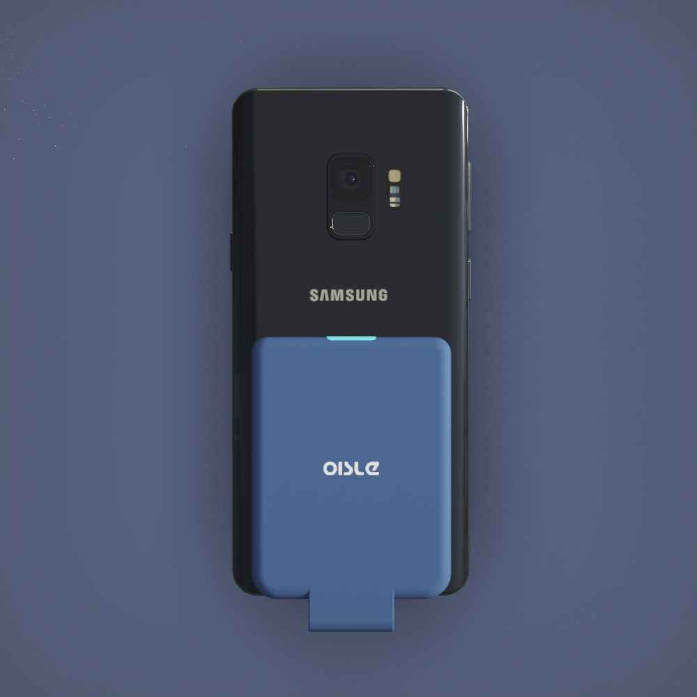 OISLE适用三星s10e背夹电池s8edge无线NOTE充电宝淘宝优惠券