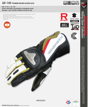 Hong Kong KOMINE bought the new GK 149 chun xia 2013 heavy vehicle drop racing gloves titanium alloy