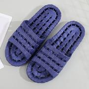拖动宾馆拖鞋女家用浴室漏水厚底居家鞋室内防滑塑料凉托鞋男批发
