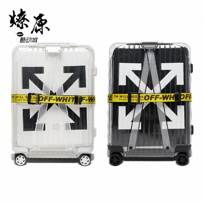 燎原装备 OFF-WHITE x RIMOWA 2.0 OW 日默瓦 透明行李箱 旅行箱图片