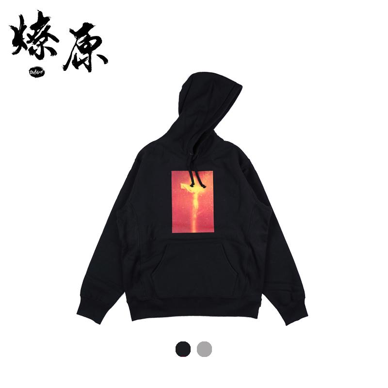 燎原装备 Supreme piss christ sweatshirt 17AW耶稣十字架卫衣