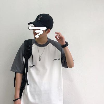 B410-DT83-P30控39 印花T恤