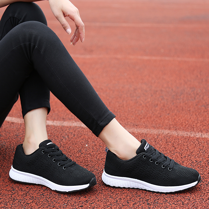 Sports shoes childrens mesh leisure flat bottom running Korean 2018 spring and autumn new all-around light and breathable summer cloth