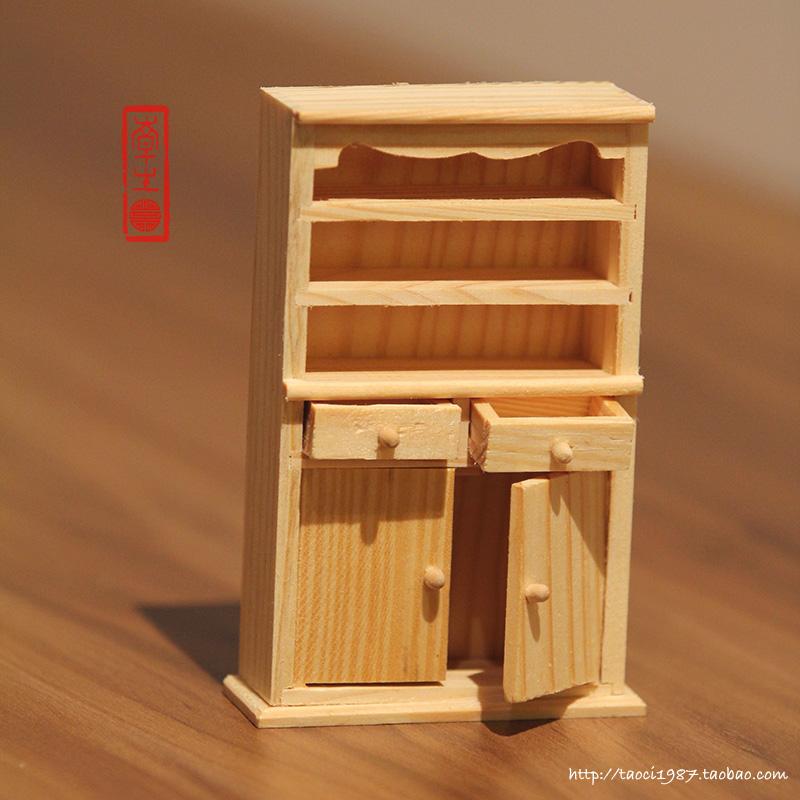 Просто ветер модель 1987/zakka мини антикварная мебель цвет древесины кабинет/комод украшения украшения