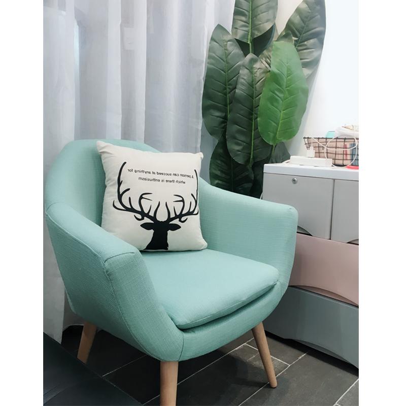 懒人沙发小户型简约现代卧室可爱女孩单人沙发椅子迷你阳台小沙发券后257.60元