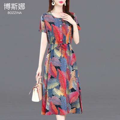 款绵绸中长连衣裙质量如何