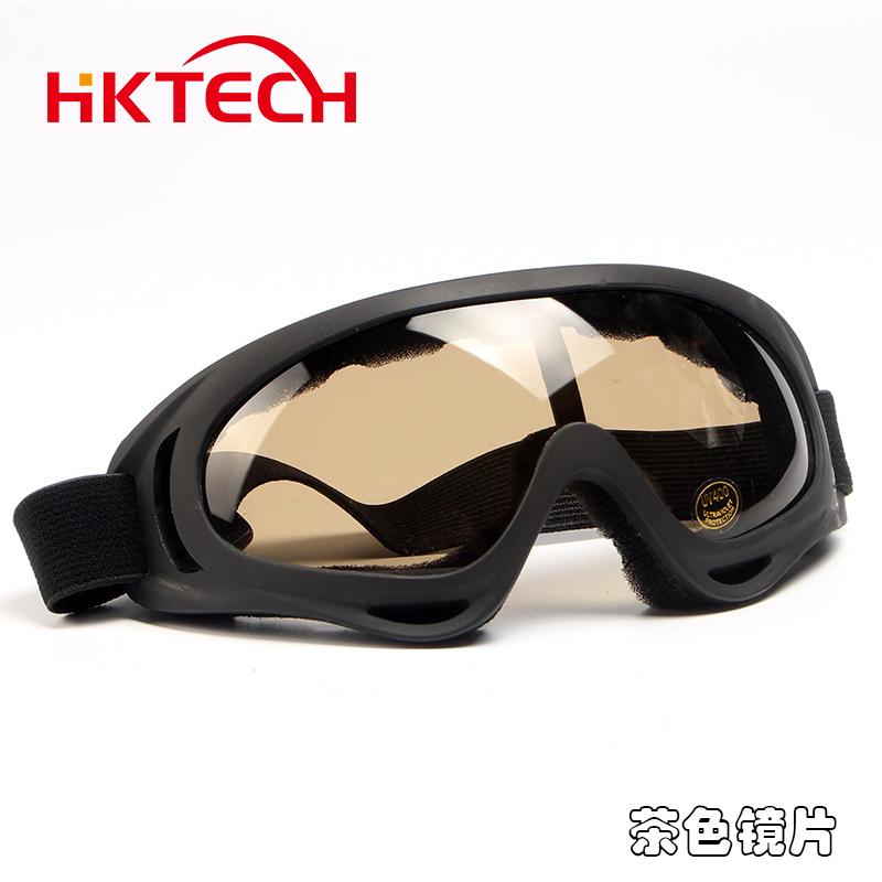 护目镜防风沙骑行抗冲击摩托车电瓶车挡风镜防灰尘劳保防护眼镜