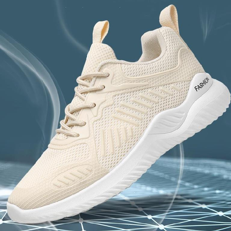 Mens tennis shoes summer mesh breathable mens shoes flat bottom low top mens lightweight thin shallow mouth summer mens trend