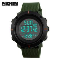 夜光男士学生国产腕表LED时刻美电子表手表运动防水Skmei包邮