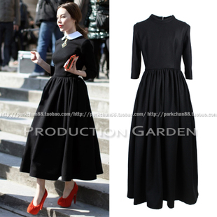 After manufacturing garden ulyanaser VINTAGE 60 s retro ladies dress