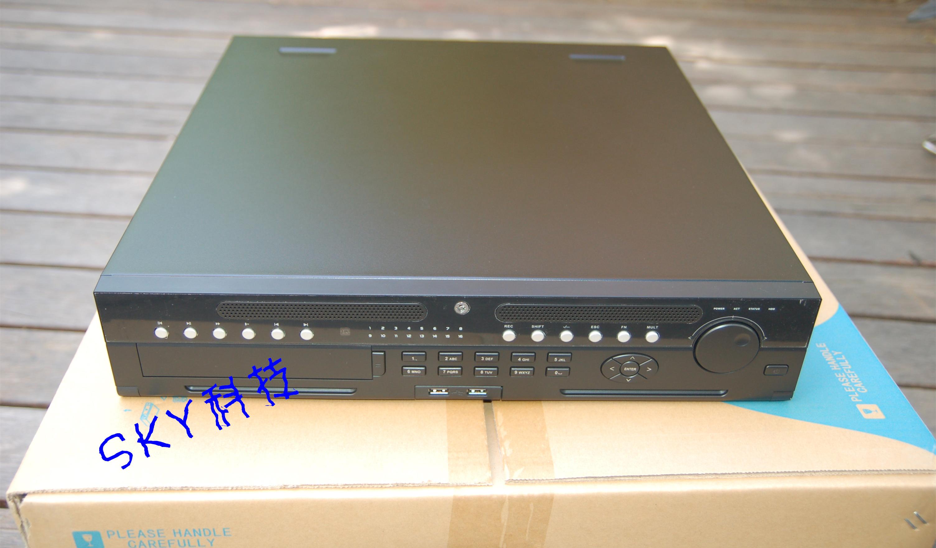 16-канальный гибридный видеомагнитофон Dahua DVR1604HG-UH-E высокая Очистить видеомагнитофон товар в наличии