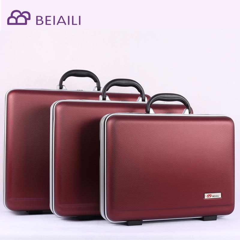 贝艾利ABS手提密码箱商务公文箱工具仪器箱包资料收费旅行登机箱