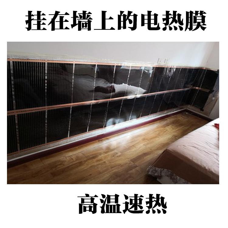 韩国碳晶特高温电热膜碳纤维壁挂墙暖画散热取暖400W480瓦电热板