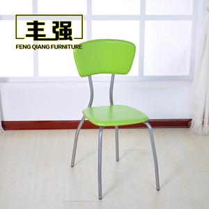 成人简易时尚椅简约学习会议椅塑料椅子纯色靠背椅餐椅办公休闲椅