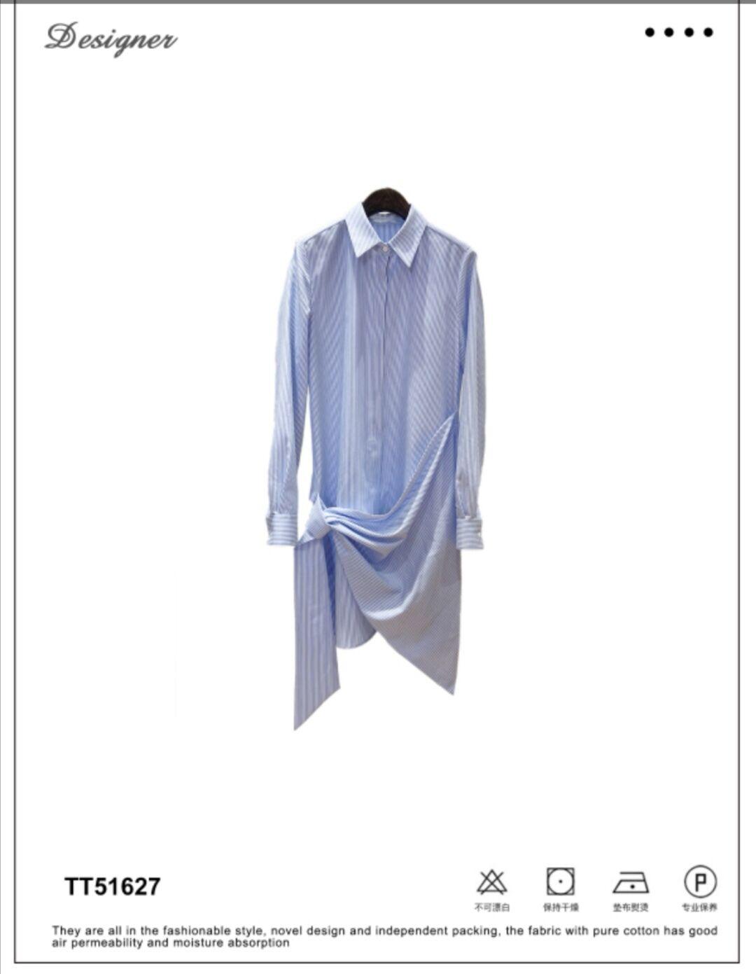 轻奢女装设计师品牌专柜精品上衣TT51627