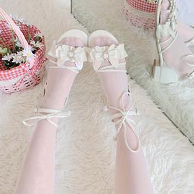月满大人凉兔新品上架简约可爱凉鞋
