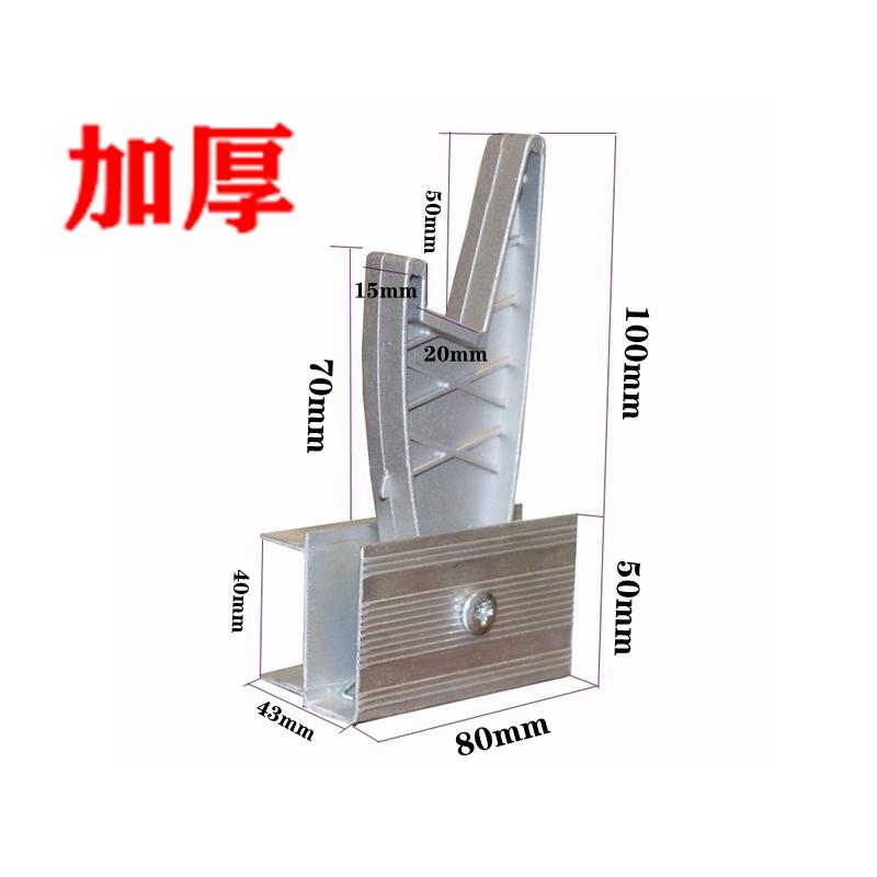 铝合金伸缩梯子配件滑轮抽拉梯拉绳双升降梯卡扣卡簧导牙防滑梯脚