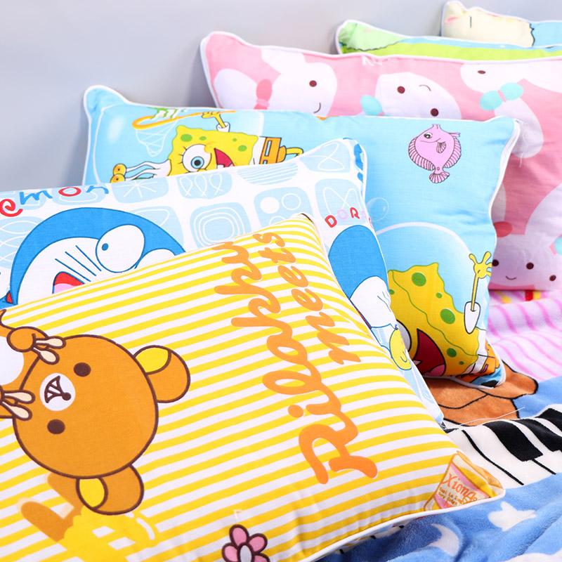 全棉��赫眍^小孩幼��@����1-3-6�q�����o�i定型枕�和�卡通����