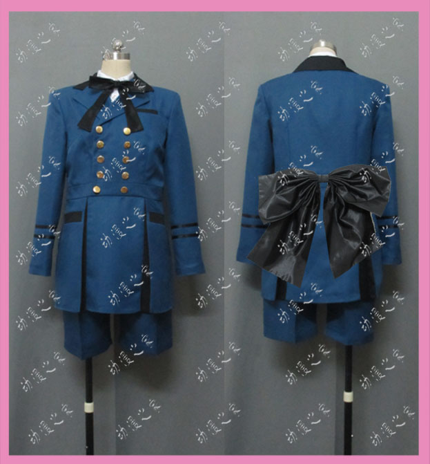 Cosplay costume black deacon black housekeeper shire dress new product