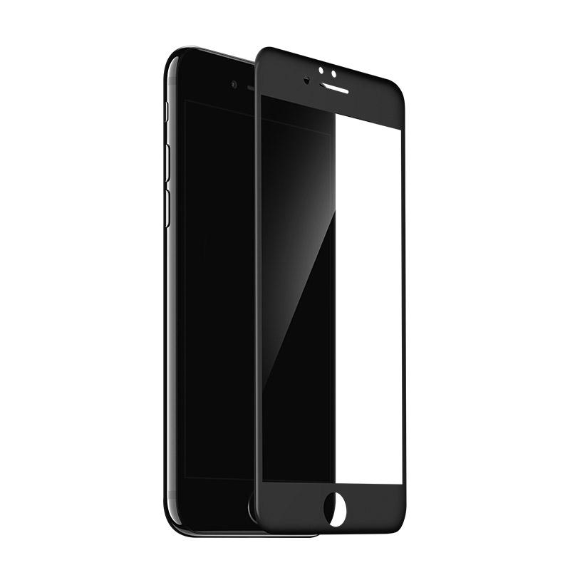 巴帝 全屏覆蓋iPhone6鋼化膜蘋果6S手機貼膜7plus防指4.7高清磨砂