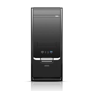 粤林650 机电脑主机箱办公机箱USB3.0机箱家用箱 台式 ATX电脑机箱