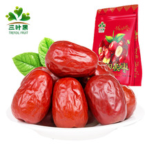 Three-leaf fruit jujube whole box 5 Jin containing Xinjiang specialty Wada jujube 2500g 1500g chun jujube Dried fruit