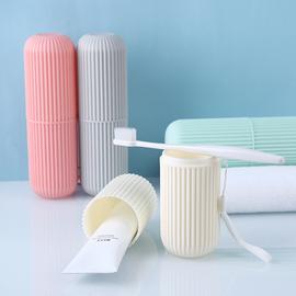 学生牙刷盒便携式 有盖旅行家用宿舍带盖牙桶洗漱高中牙具牙膏盒
