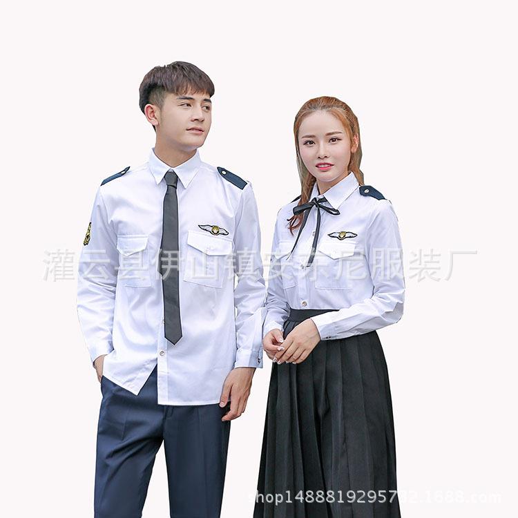 夏季 学院派情侣学生装 制服套装 初高中班服 含领带丝带学生校服
