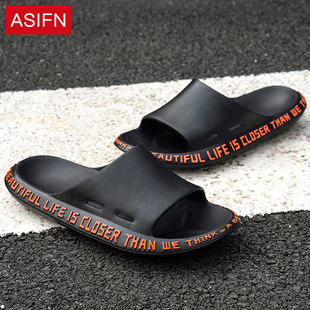拖鞋男士夏季潮流韩版情侣个性一字拖居家用托鞋室内外穿沙滩凉鞋图片