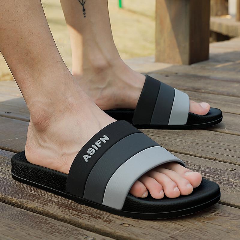 夏季凉拖鞋家用男士室内家居浴室洗澡防滑塑料软底女居家托鞋夏天