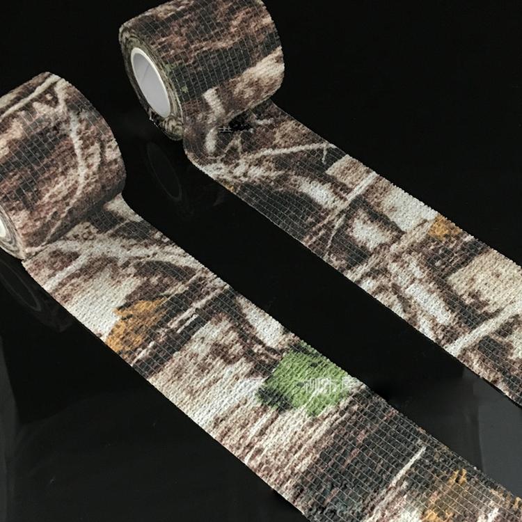 Не осталось клея копия вентиляторы для здоровья цвет Охота камуфляжная лента лента куст джунглях вентилятор цвет Ткань самоклеящаяся эластичная лента
