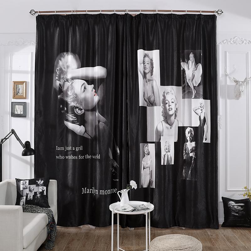 ネットの赤い震える音のカーテンの白黒の個性的なキャスターの背景の仕事部屋の店の仕切りのカーテンの試着室の美容院のカーテン