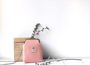 【菜市场的猫】手工斜挎小包 手机包 复古日系女包 新款包邮刺绣