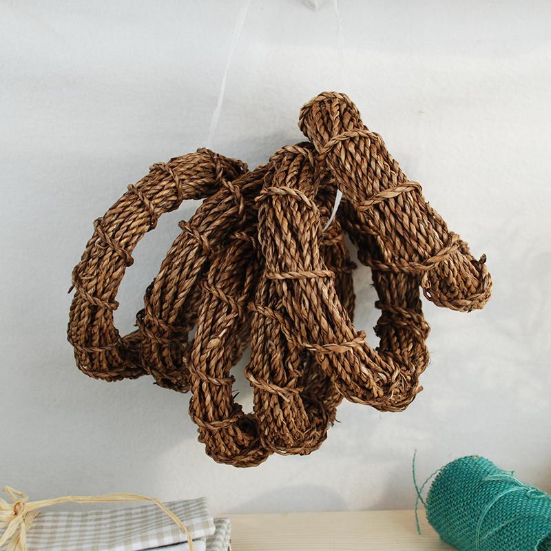 天然水草 DIY用辅料 手工艺编制装饰绳子 装饰品材料配件 9米1卷