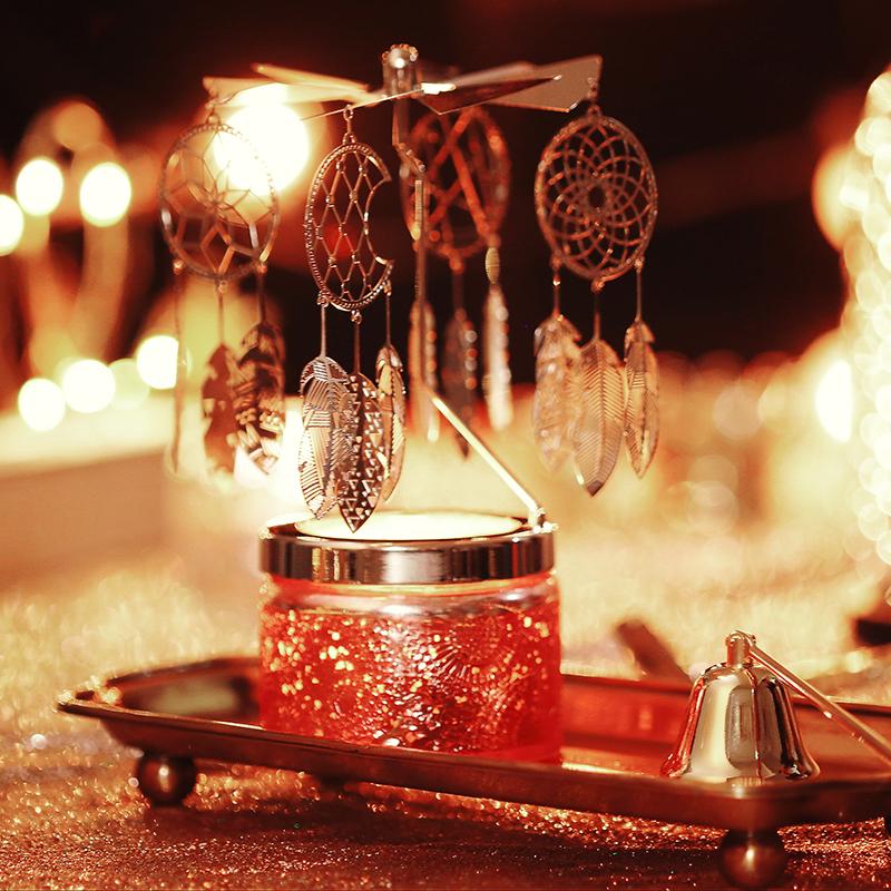 VOLUSPA精油香薰蜡烛小浮雕杯进口卧室助眠香氛蜡烛结婚礼物礼盒