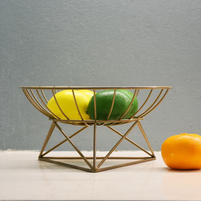 果盘客厅北欧创意时尚个性茶几水果篮沥水现代家用简约果盆收纳篮