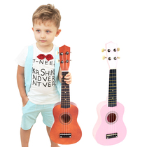 Wooden Guitar Toys Ukreli Beginners Children can play simulation small music musical instruments Girl Boy
