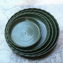 加仑花盆托盘大号加厚环保塑料盆托接水盘盆垫通用大托盘花盆底座