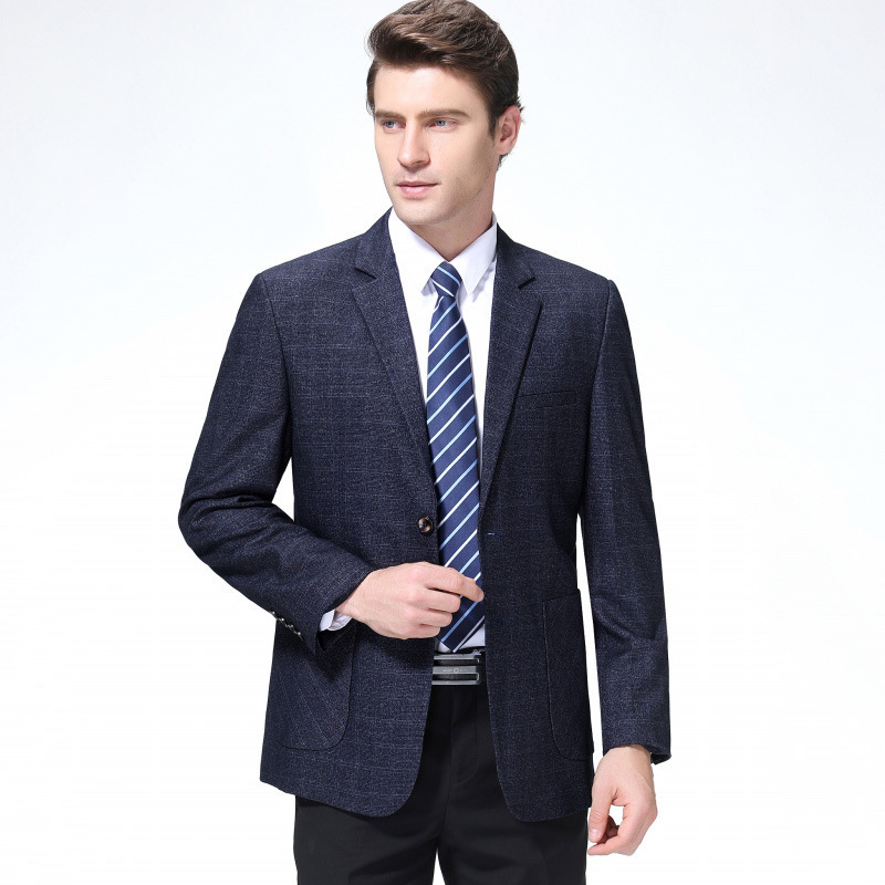Mens clothing brand of woolen suit in autumn and winter