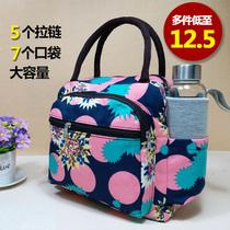 女式包包新款时尚上班手提包女小包迷你妈妈手拿帆布小布包小方包