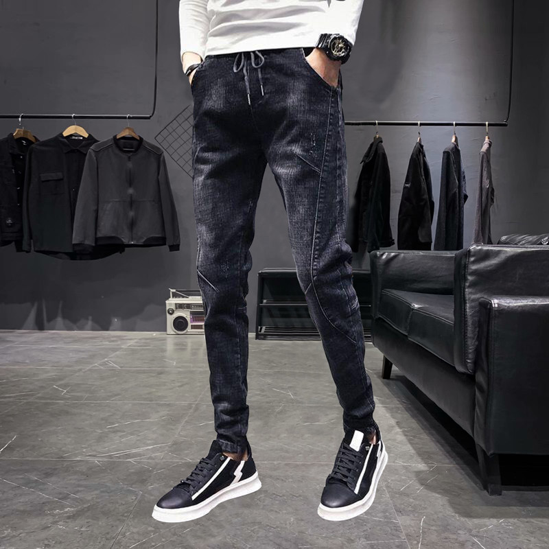 Mens casual pants with casual jeans