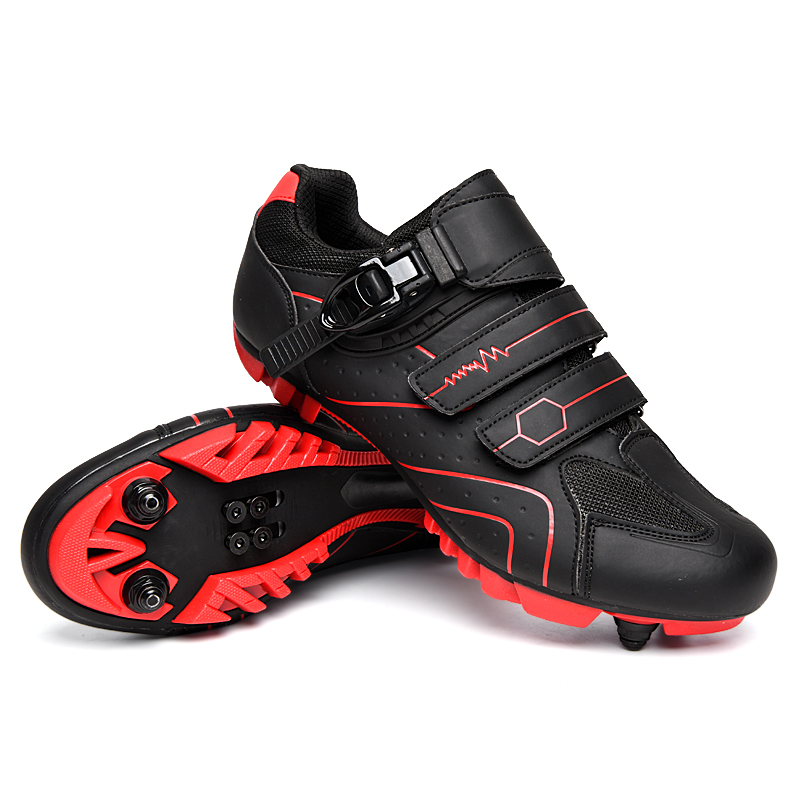 Outdoor mountain lockless cycling shoes for couples